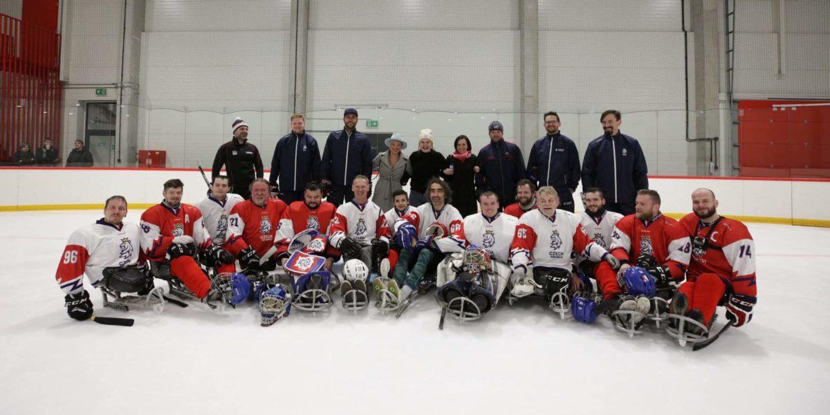 PARAdní Trénink S Ambasadorem A Hokejovými Hvězdami