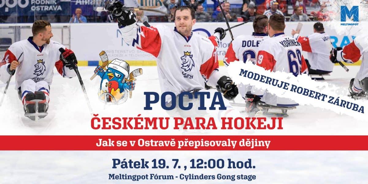 Pocta českému Para Hokeji Na Meltingpotu Colours Of Ostrava